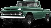 Chevrolet C-10 Stepside 2 Door pickup truck 1963