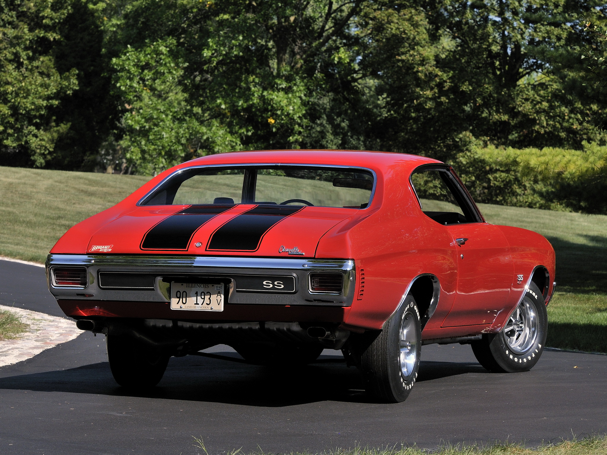 chevrolet chevelle ss 454 coupe 1970