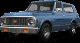 Chevrolet K5 Blazer 2 Door pickup truck 1969