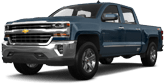 Chevrolet Silverado 1500 4 Door pickup truck 2016