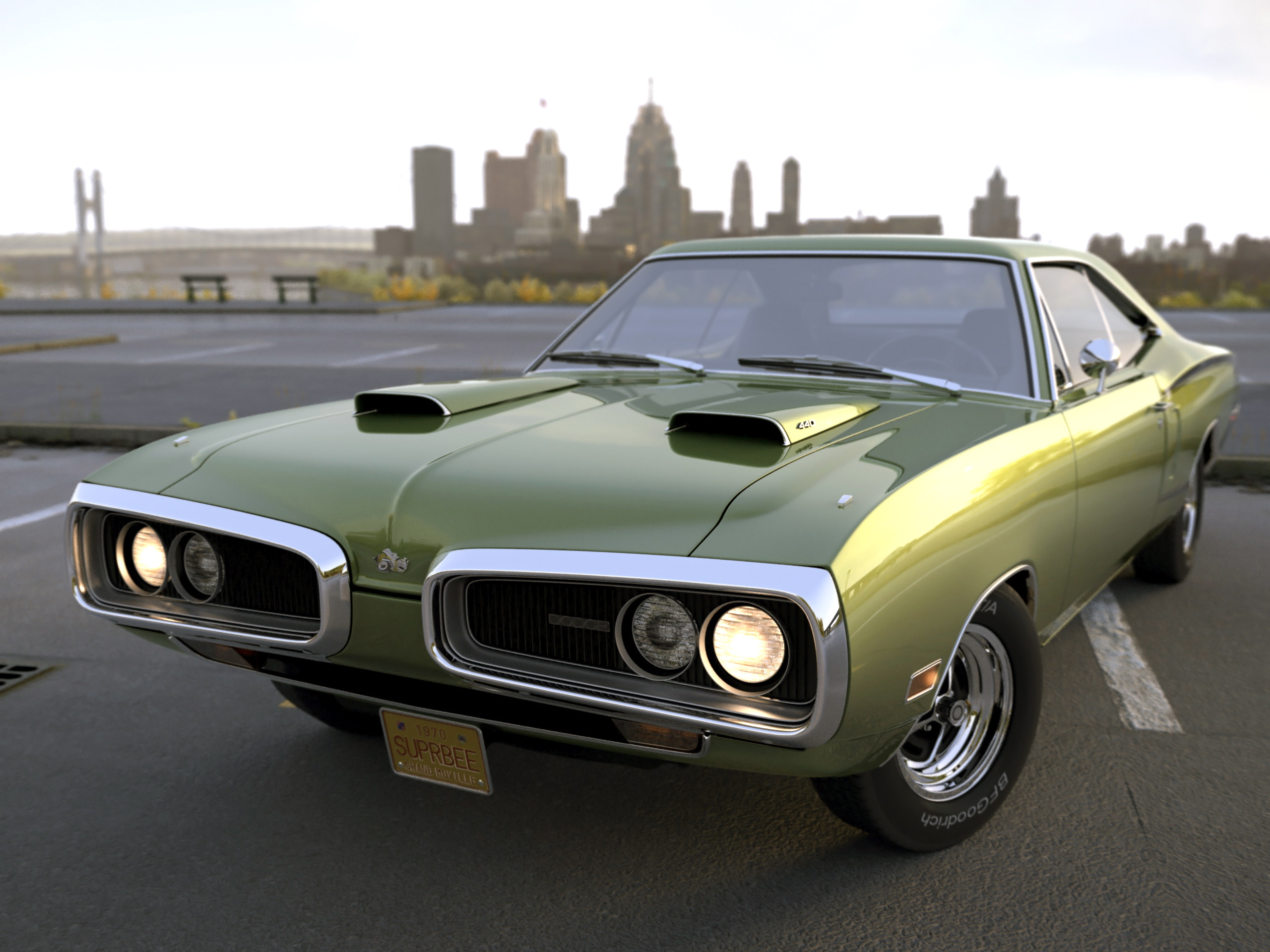 3dtuning Of Dodge Coronet Super Bee Coupe 1970 3dtuning