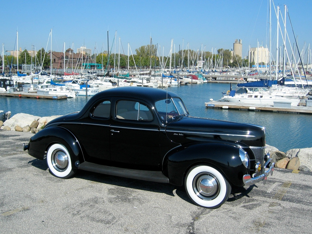 Ford De Luxe Coupe Liftback 1940
