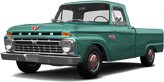 Ford F-100 Custom Cab 2 Door pickup truck 1966