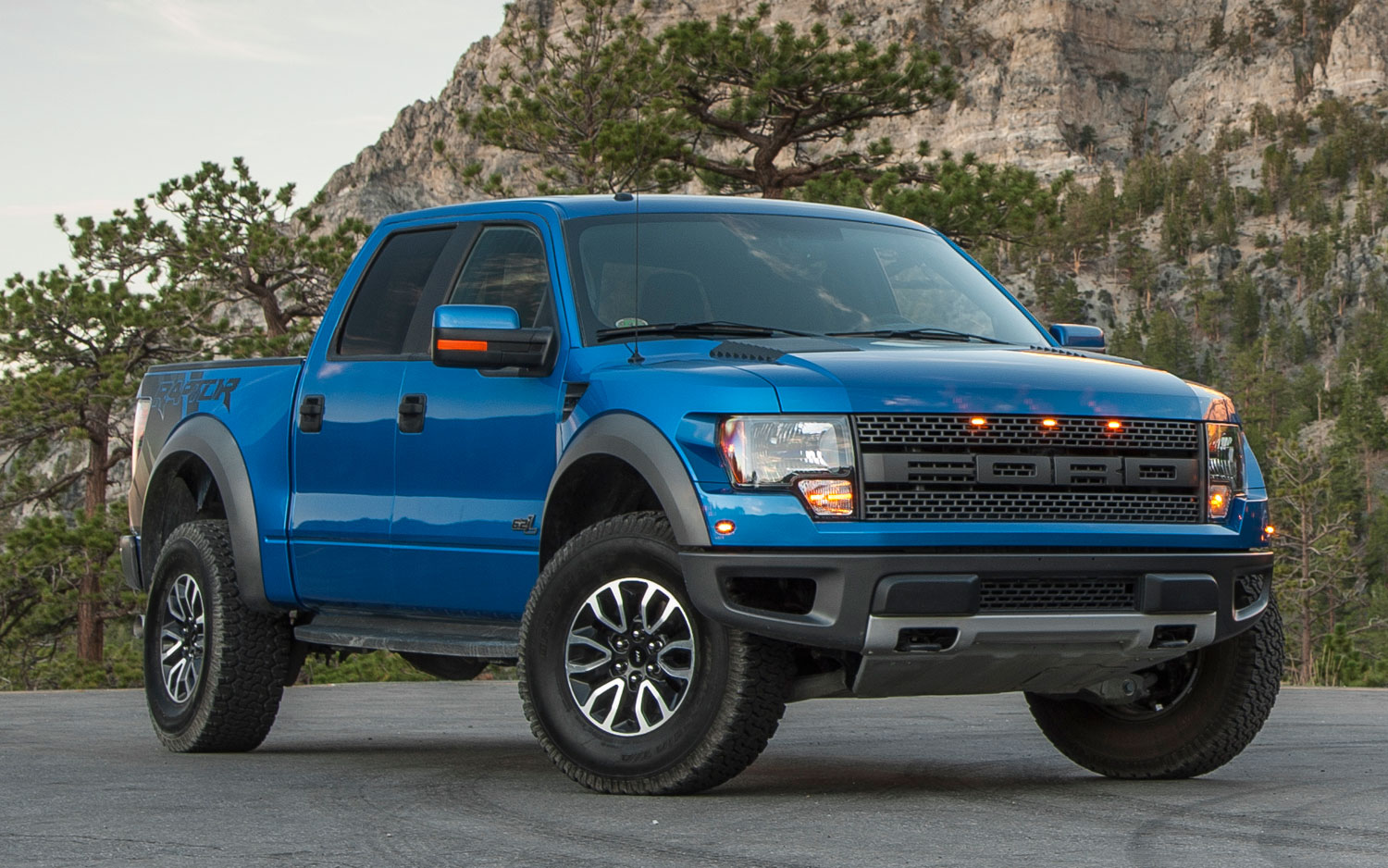 Ford F 150 SVT Raptor SuperCrew Truck 2013