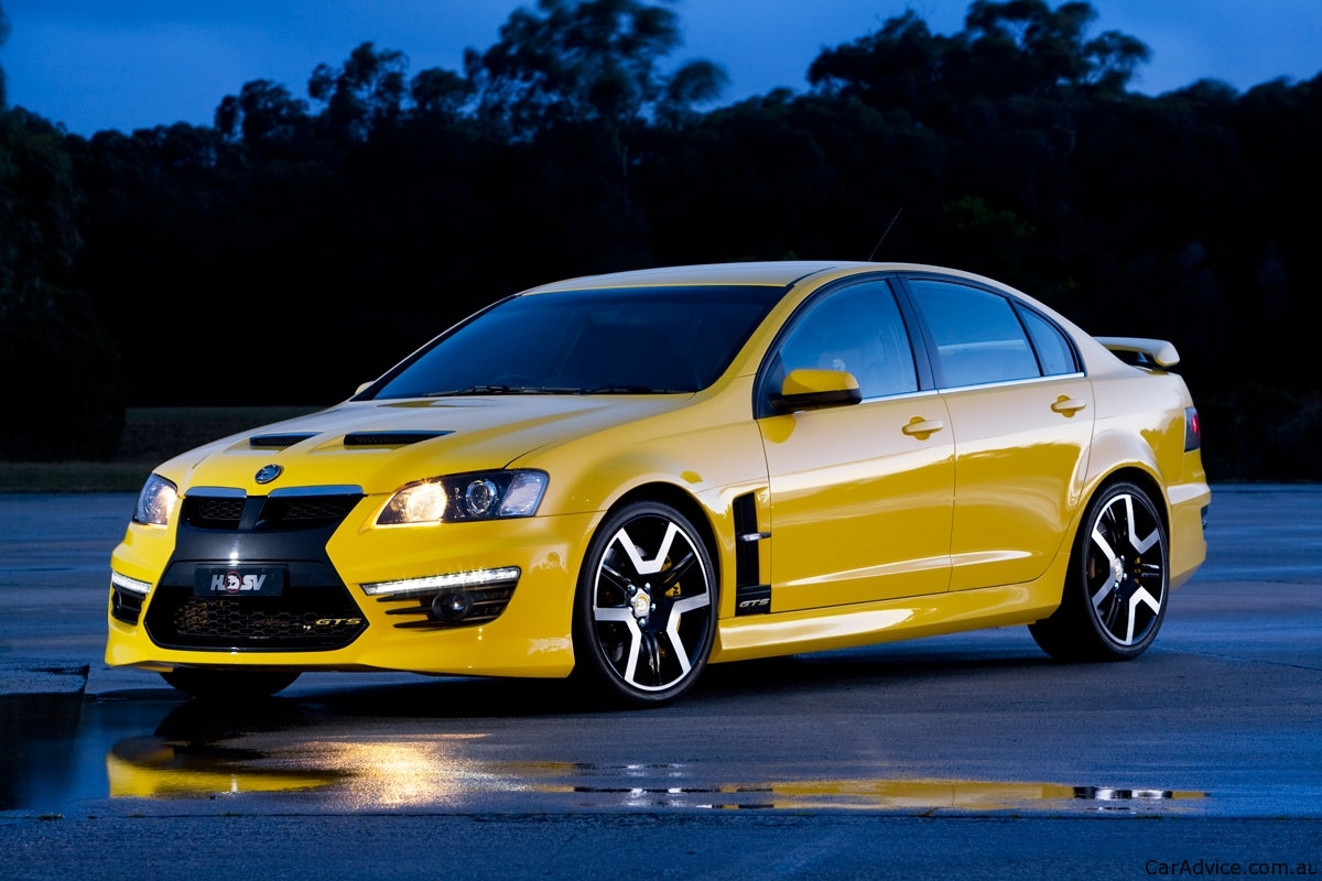 Holden HSV GTS sedan 2010