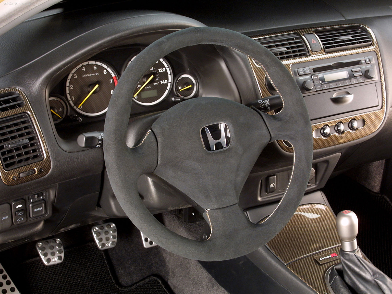 2001 honda civic interior colors