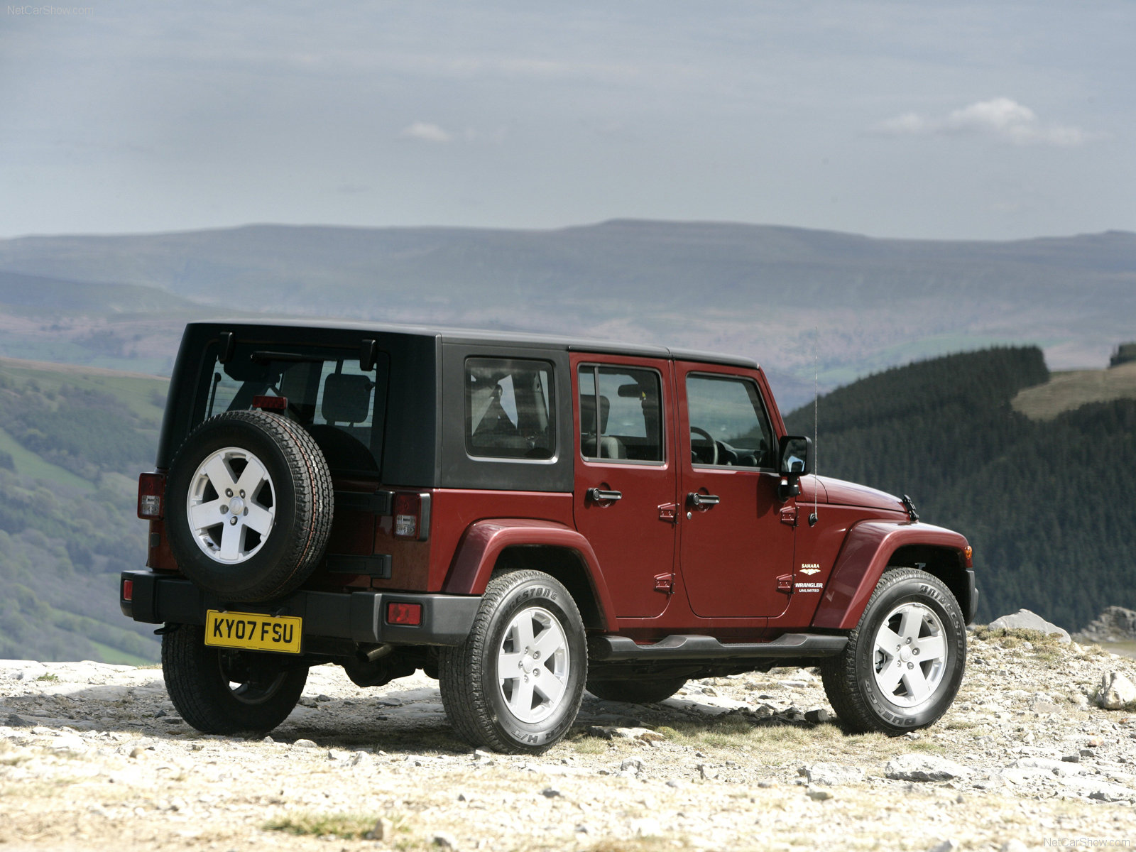 Jeep Wrangler Unlimited SUV 2008