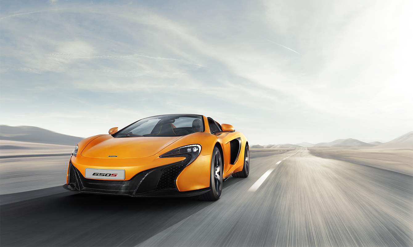 McLaren 650S Spider Coupe 2015