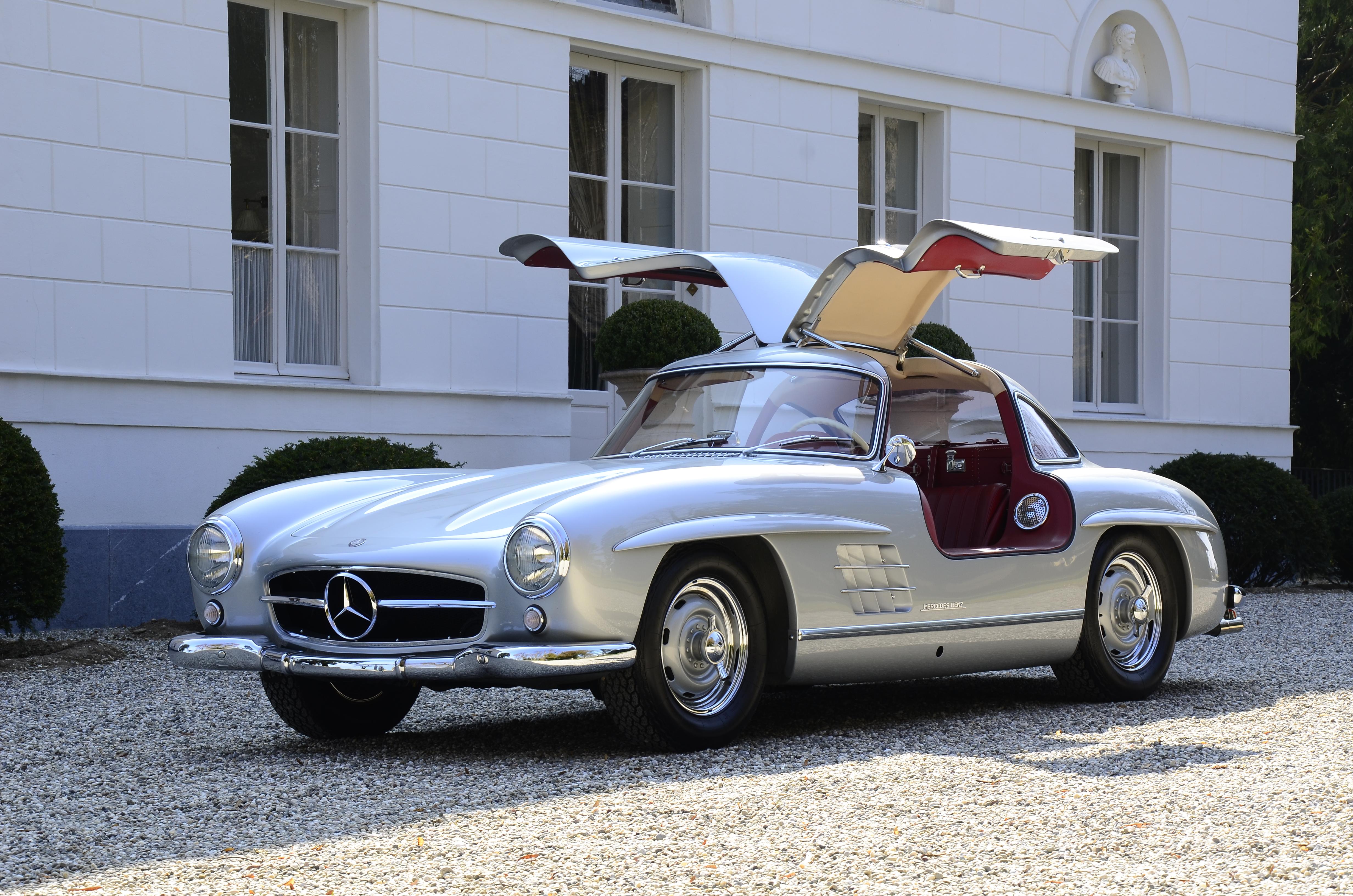 3dtuning of mercedes 300sl convertible 1954 for Mercedes benz sl 300