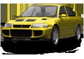 Mitsubishi Lancer Evo I sedan 1992