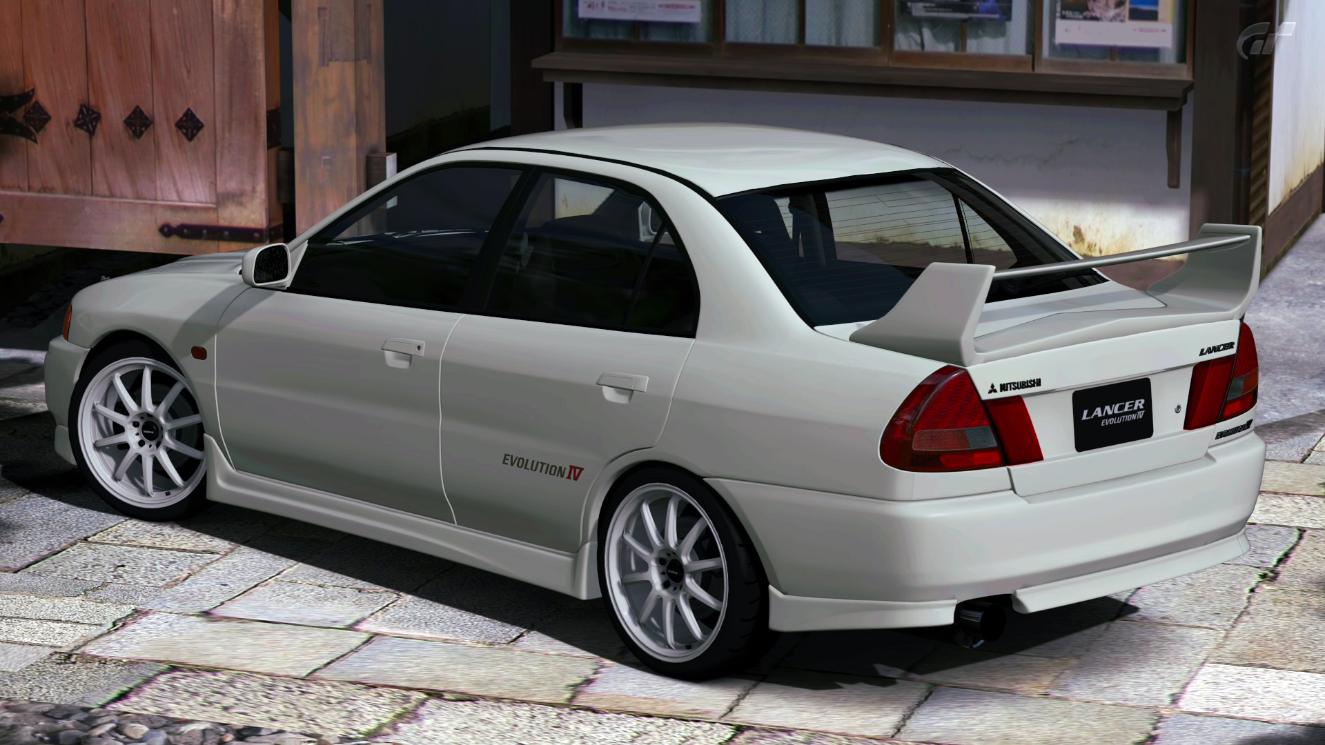 My perfect Mitsubishi Lancer Evo IV. 3DTuning - probably the best ...