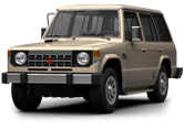 Mitsubishi Pajero Wagon 5door SUV 1983