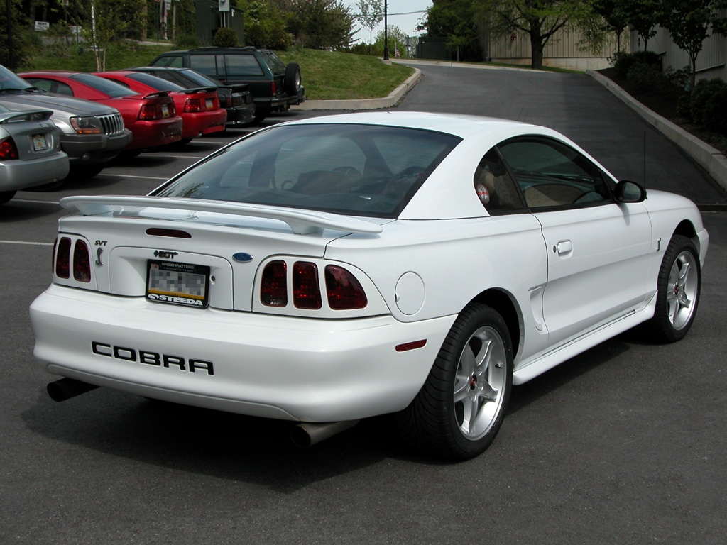 Mustang Cobra R Coupe 1995