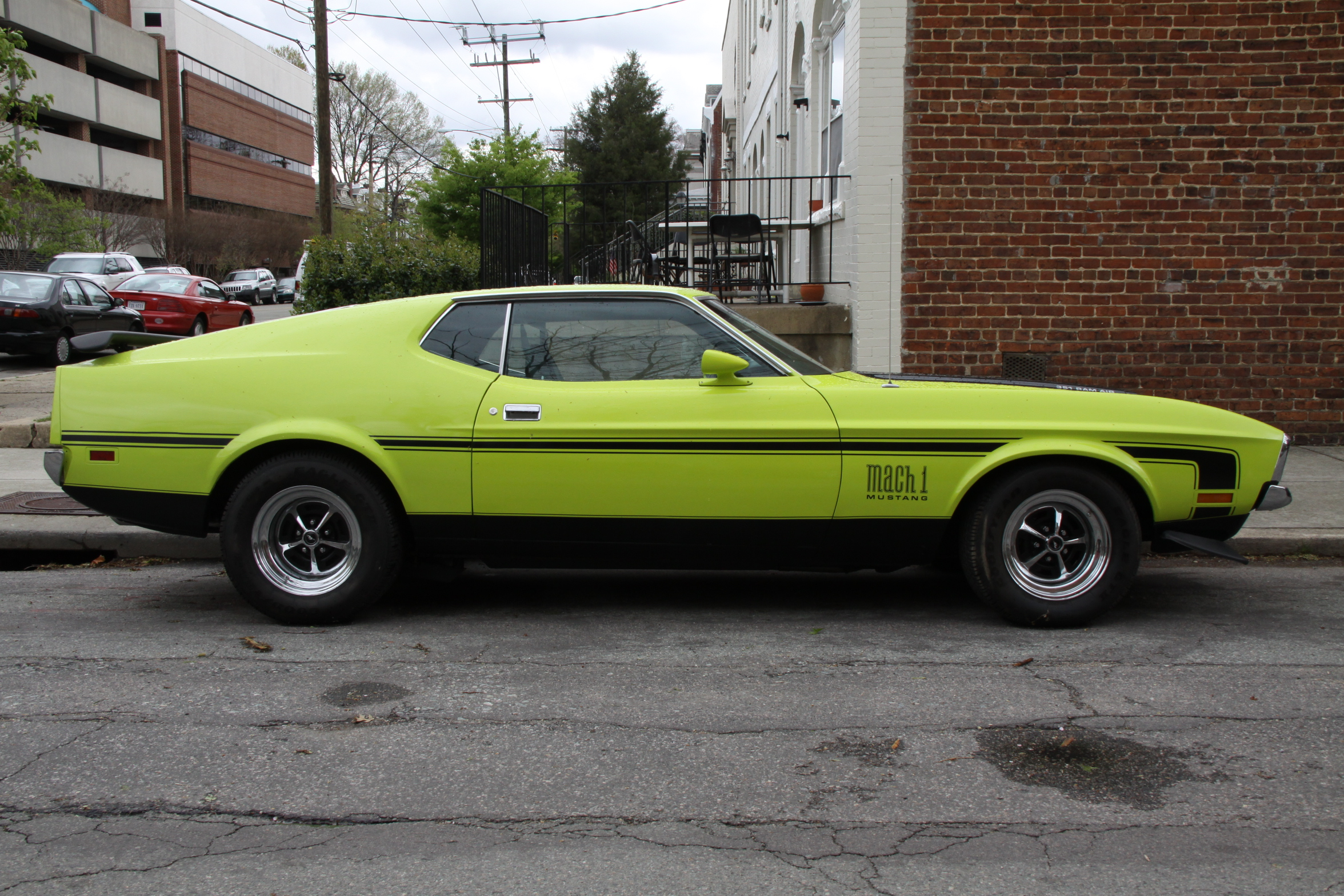 3dtuning Of Mustang Mach 1 Coupe 1971 3dtuning Com