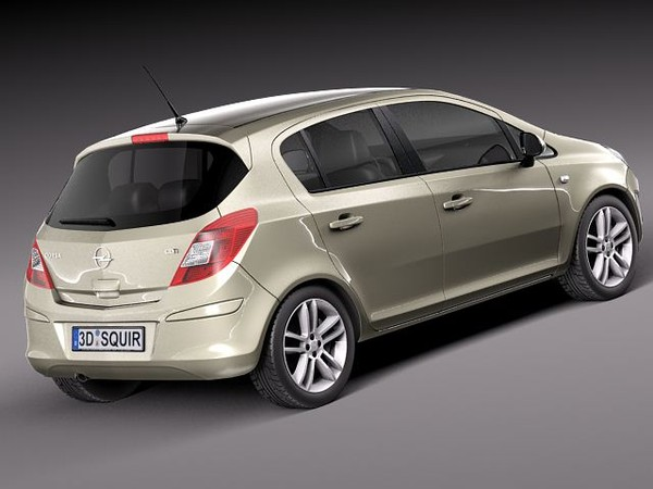 3DTuning of Opel Corsa D (facelift) 5 Door Hatchback 2010 ...