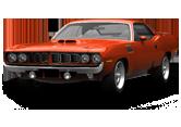 Plymouth Hemi Cuda Coupe 1971