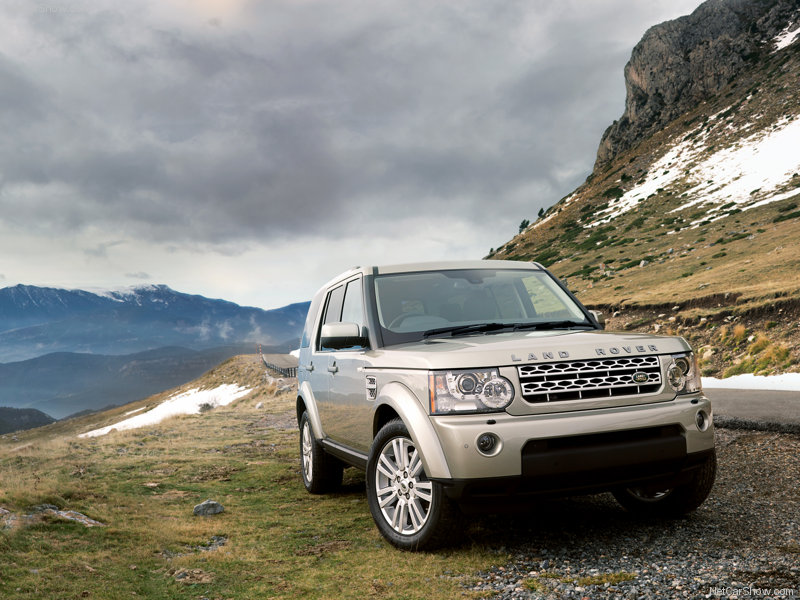 Range Rover Discovery 4 SUV 2012